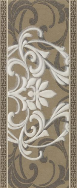 Italon Travertino Wall Project Listello Arabesque