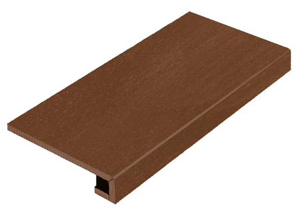 Italon Surface Corten Scalino Frontale 33x60