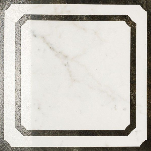 Italon Charme Floor Project Pearl Inserto Frame 59x59