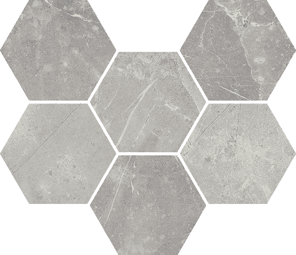 Italon Charme Evo Floor Project Imperiale Mosaico Hexagon