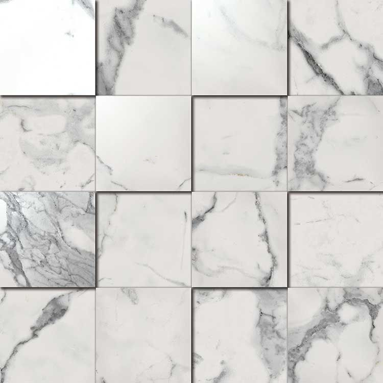 Italon Charme Evo Floor Project Statuario Mosaico 3D
