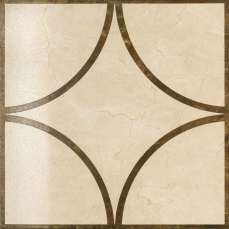 Italon Charme Floor Project Cream Inserto Loop 59x59